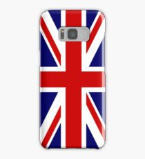 British, Union Jack, PORTRAIT, Flag, 1;2, UK, GB, United Kingdom, Pure & simple  Samsung Galaxy Case/Skin