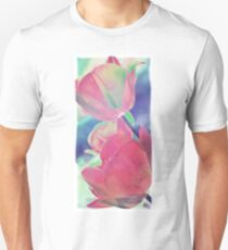 Colorful Tulip Photography-Art T-Shirt