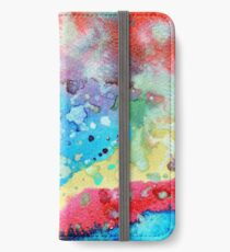 Figurative, abstract landscape iPhone Wallet/Case/Skin
