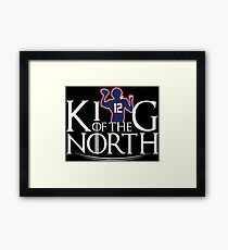 King Of The North  Framed Print