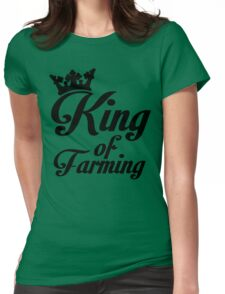 King of farming Womens Fitted T-Shirt