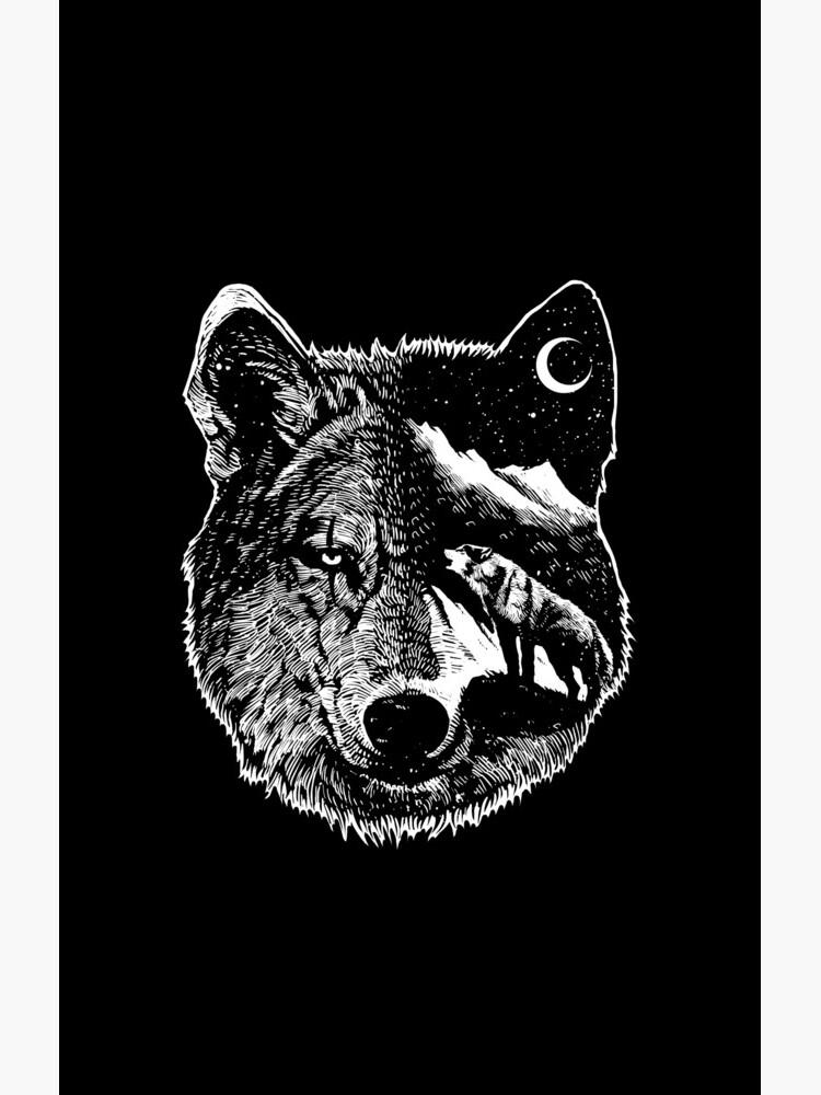Night wolf by barmalisiRTB