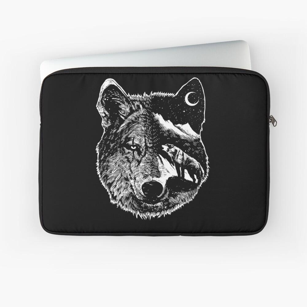 Night wolf Laptop Sleeve