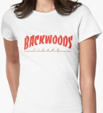 Backwoods Cigars Women's Fitted T-Shirt