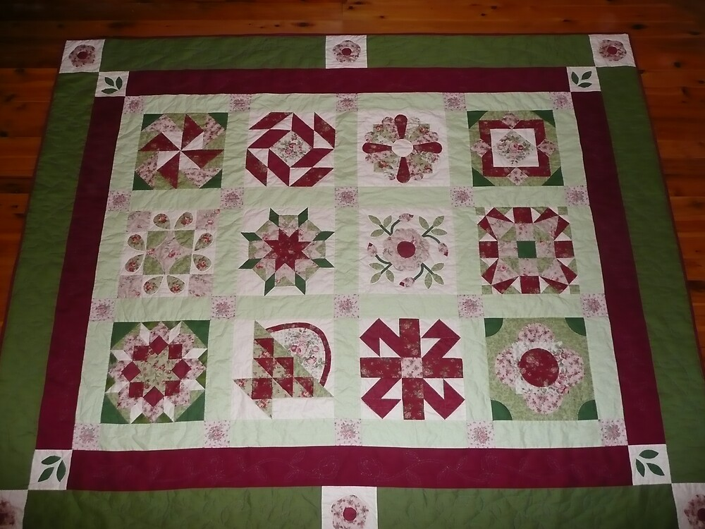my first quilt by rosalind