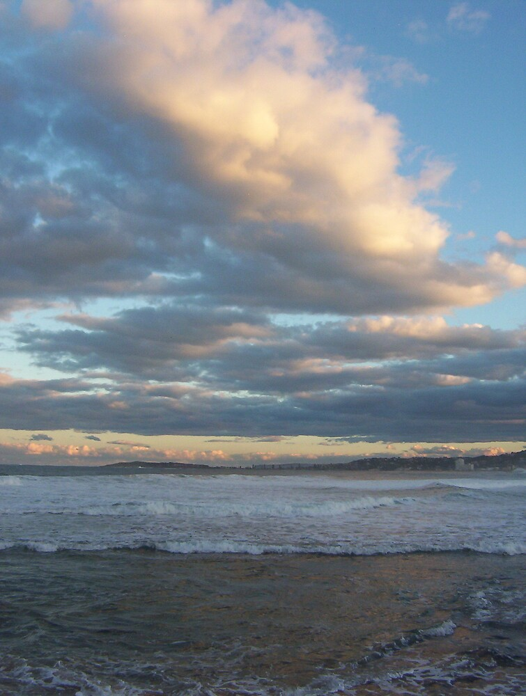 north narrabeen cloud by rosalind