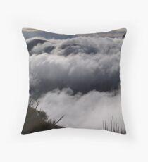 Bluff Knoll Clouds Throw Pillow
