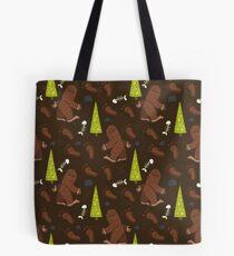 Bigfoot!  Tote Bag