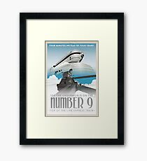 Grim Fandango Travel Posters - Number Nine Framed Print