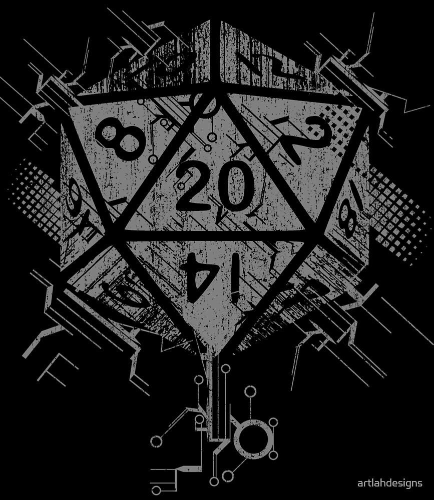 D20 Of Power by artlahdesigns