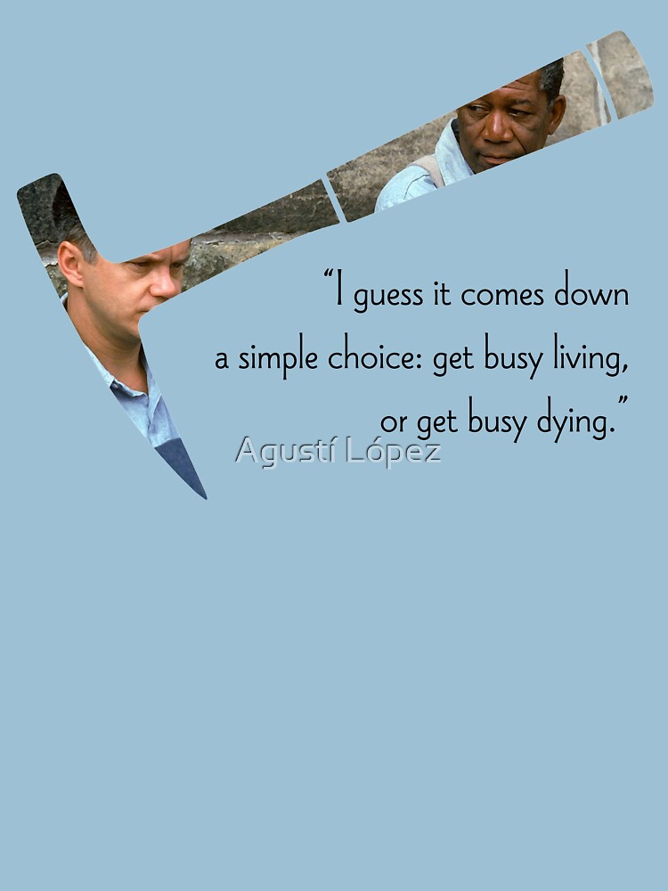 The Shawshank Redemption Quote by AgustiLopez