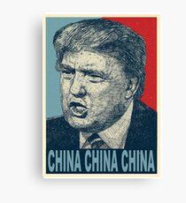 China China China Canvas Print