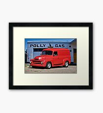 1953 International Panel Delivery Truck I Framed Print