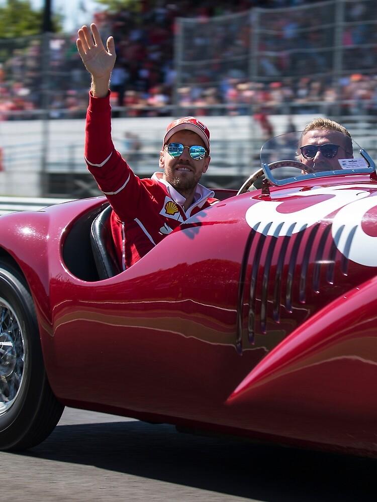 Sebastian Vettel  by SpeedKing