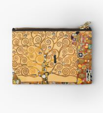 Breathing Art | Gustav Klimt, The Hug Studio Pouch