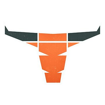 Modern Longhorn by wfultzdesigns