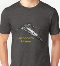 Da Vinchi Design for Engineers T-Shirt