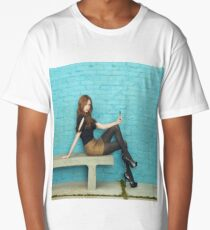 Karen Gillan Long T-Shirt