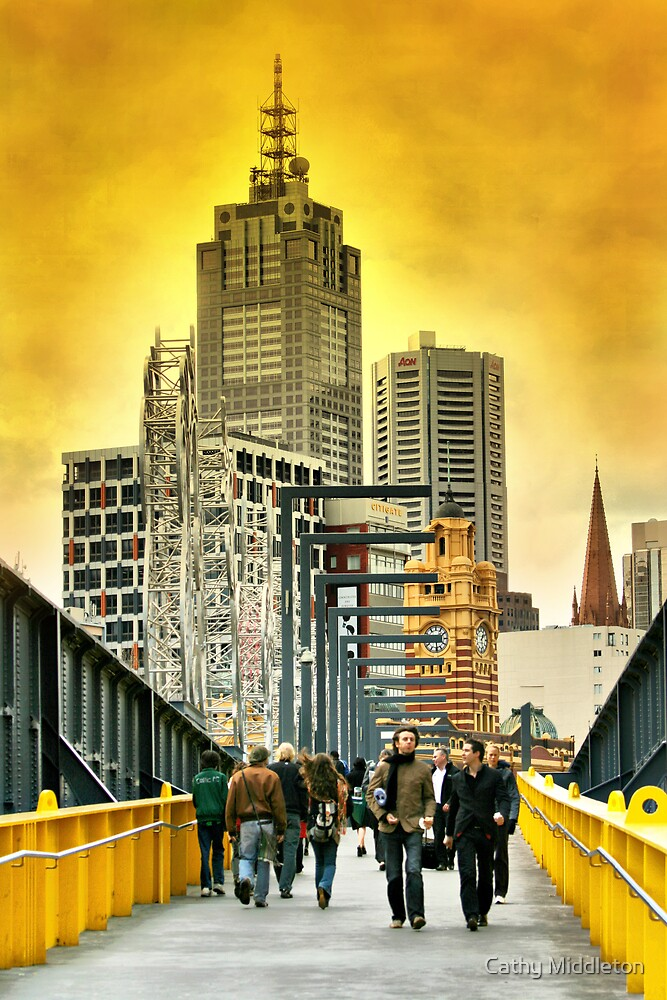 City Walk by Cathy Middleton