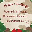 Home is where the heart is -Guernsey Christmas card by sarnia2