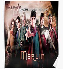 MERLIN BBC TV SHOW FANTASY Poster