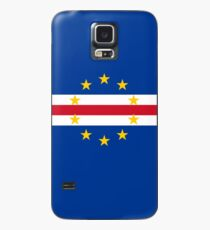 Cape Verde Flag Products Case/Skin for Samsung Galaxy
