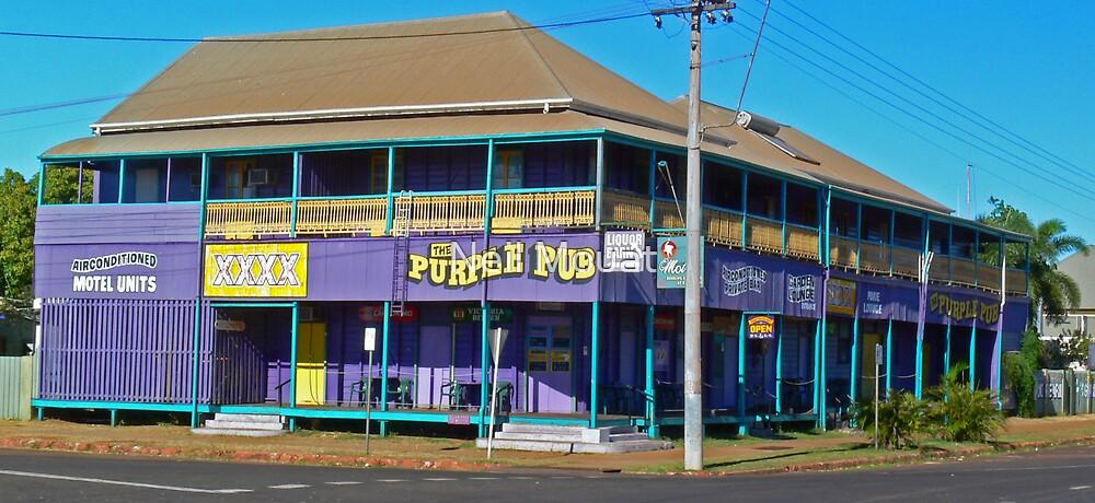 the purple pub by Neil Mouat