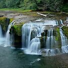 Lower Lewis Falls by Jennifer Hulbert-Hortman