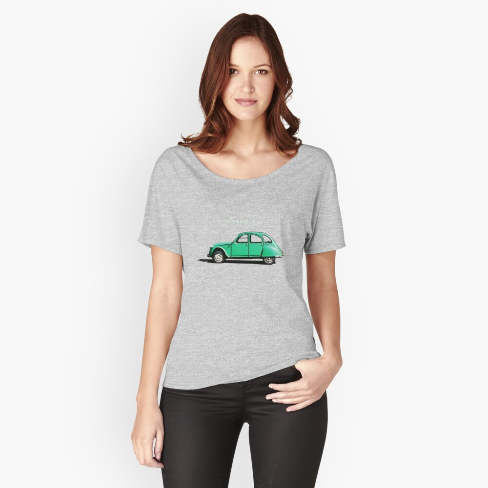 Le Splendid 2CV T-shirt Women's Relaxed Fit T-Shirt Front