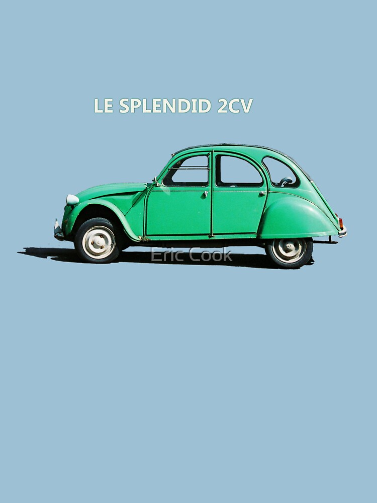 Le Splendid 2CV T-shirt by cooksee