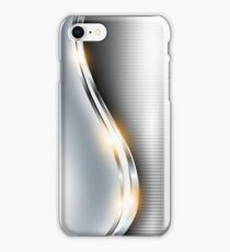 Stainless Steel - Shine iPhone Case/Skin