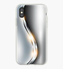 Stainless Steel - Shine iPhone Case