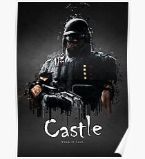 Operator Castle from Rainbow Six Siege Poster