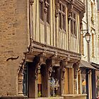 Historic Old Half Timber House - Bayeux Normandy France by Buckwhite