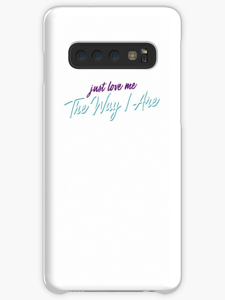 'The Way I Are - Bebe Rexha' Case/Skin for Samsung Galaxy by thetiredness