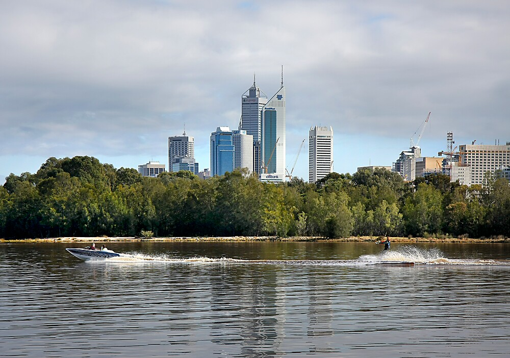 Water Skiing Perth WA by Stanislaw