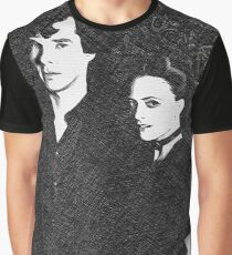 The Woman and the Consulting Detective Graphic T-Shirt