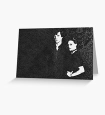 The Woman and the Consulting Detective Greeting Card