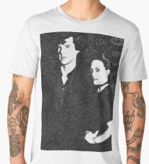 The Woman and the Consulting Detective Men's Premium T-Shirt