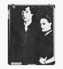 The Woman and the Consulting Detective iPad Case/Skin