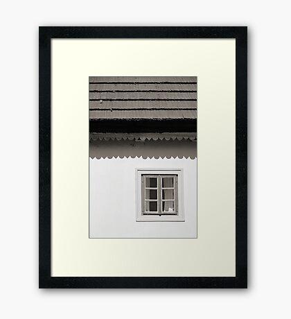 Seen ages... Framed Print