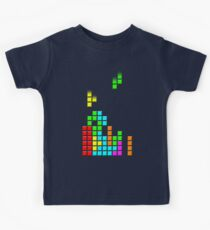 #1 TETRIS FAN Kids Tee