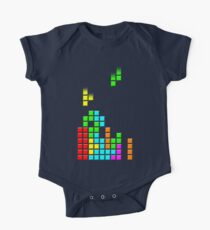 #1 TETRIS FAN One Piece - Short Sleeve