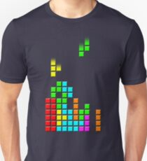 #1 TETRIS FAN Slim Fit T-Shirt