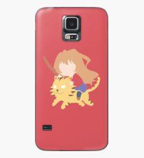 Funda/vinilo para Samsung Galaxy Taiga Aisaka de Toradora