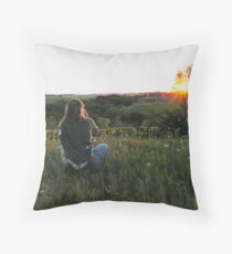 Taking Pictures Throw Pillow