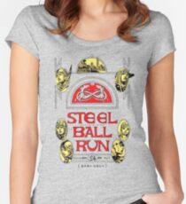 Steel Ball Run #24 Women's Fitted Scoop T-Shirt