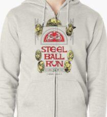 Stahlkugellauf # 24 Hoodie mit Reißverschluss