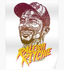Raleigh Ritchie - Lines Summer Colour Poster