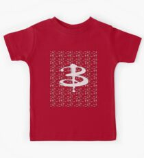 buffy pattern Kids Tee